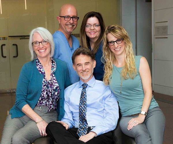 Doctor Strom and the Beverly Hills Complete Dentistry team